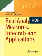 Boris Makarov, Anatolii Podkorytov-Real Analysis_ Measures, Integrals and Applications-Springer-Verlag London (2013)