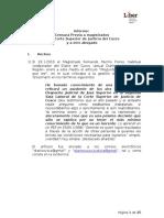 Informe Caso Censura Diario Judicial Del Cuzco