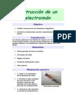 Onstrucción de Un Electroimán 1