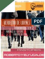 Libro Academia de Lideres  Modulos 1 y 2