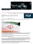 Cyber Warfare- Iran Opens a New Front - FT