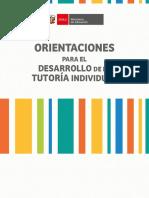 ATI-Orientaciones Para El Desarrollo de La Tutoría Individual