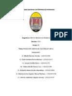 Resumen de Trayectoria Gubernativa de Juan Manuel Galvez