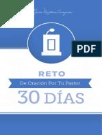 Reto de 30 Dias de Oracion Por Tu Pastor