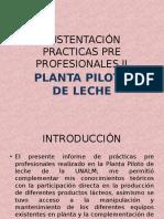 Sustentación Practicas Pre Profesionales II