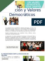 Educación y Valores Democráticos