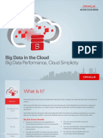 Oracle Big Data Cloud Service