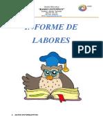 Informe de Labores 2015 2016