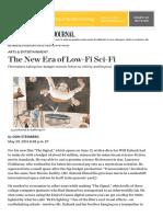 The New Era of Low-Fi Sci-Fi - WSJ