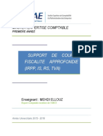 Cours Fiscalite Approfondie Iscae 2015