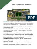 Fallout 4 Guia
