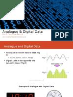 analogue   digital data 1-8 of 19