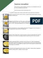 Cómo Preparar Huevos Revueltos
