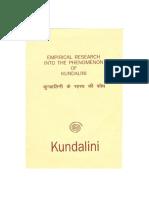 Emperical Research Into the Phenomenon of Kundalini Krai Doc 1994