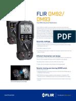 Flir Dm92 Dm93 Datasheet