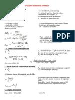 Formulas Para Diseño de Separador Trfasico