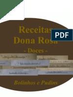 Receitas Dona Rosa - Bolinhos e Pudins