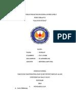 Laporan Praktikum Kimia Anorganik i2