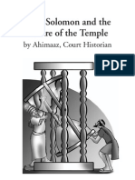 King Solomon and the Future of the Temple