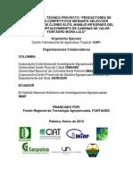 Informe Lulo y Mora