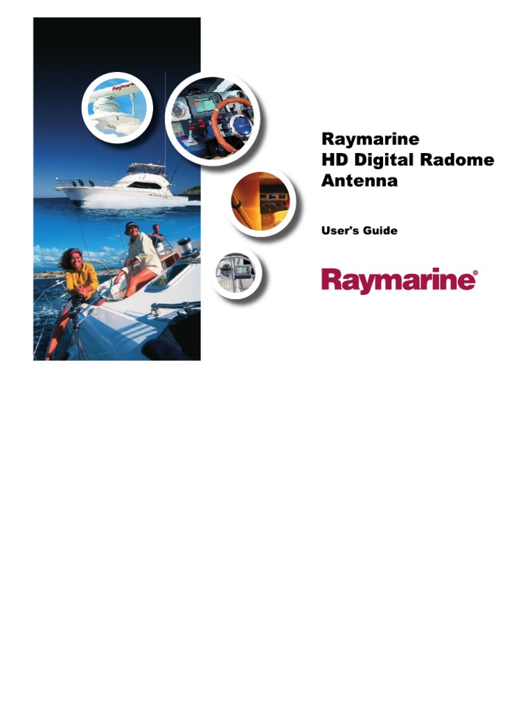 Ray-HD-Digital-Radome-Manual pdf | Electromagnetic Compatibility | Radio