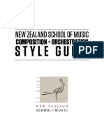 NZSM Composition -And- Orchestration Style Guide