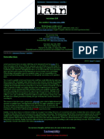 Thought Experiments Lain