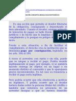 2014 Doctrina y Ejemplos de Pago Por Consignación (Paraguay)