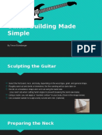 guitar building made simple