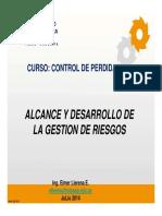 4. Desarrollo de Gestiòn Del Riesgo