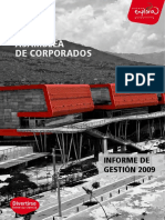 Informe Gestion 2009 Parque Explora