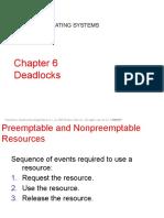 Chap#06 Deadlocks