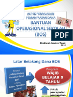 Aspek Perpajakan Dana Bos - 01092015