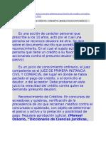 2014 Doctrina Reconocimiento de Crédito (Paraguay)