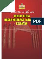Dasar Keluarga Mawaddah Negeri Kelantan