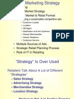 Retail II Strategy