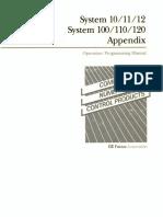 Fanuc System 10-11-12 Series Operation Programming Parameter Manual Appendix(B-54810E 02)