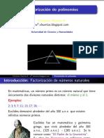 Factorizacion I