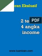 Laporan 2 Teknik 4 Angka Income