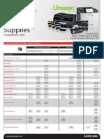 Supplies Compat Table EXP Master Manual 14022013
