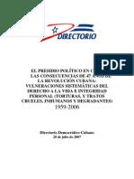 1780 Carceles en Cuba