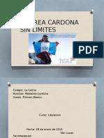 Andrea Cardona Sin Limites