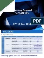 17122014Samsung Proposal for VoLTE KPIs_v2.2
