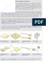 Australian Telephone Plugs&Sockets