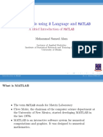 Lecture 14 Mat Lab