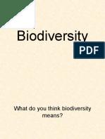 Biodiversity Class Ppt