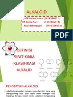 Alkaloid Ppt