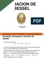 Ecuación de Bessel (1)