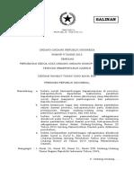 UU Nomor 9 Tahun 2015_perubahan Kedua UU 23 2014_pemerintahan Daerah