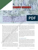 Digging Designer Genomes